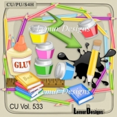 CU Vol 533 School Stuff by Lemur Designs