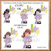 1st Birthday Lilac
