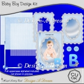 Baby Boy Design Kit