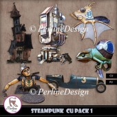 6 elements for Steampunk kits