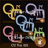 CU Vol. 021 Frames by Lemur Designs