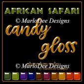 African Safari Gloss Photoshop Styles