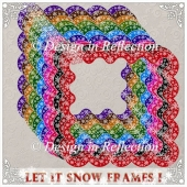 Let It Snow - Bold Frames I