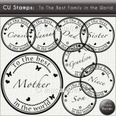CU Stamps: Best Family in the World