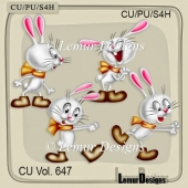CU Vol. 647 Rabbit Bunny