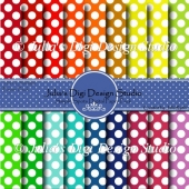 Simple Spots Digital Paper Pack