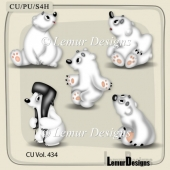 CU Vol. 434 Animals by Lemur Designs