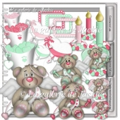 Valentine cupid bear 6 FS by GJ