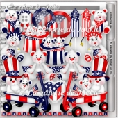 CU Patriotic Bear 1 FS by GJ