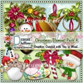 Christmas Element Pack 4