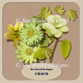 Vol5 Flowers and leaves, CU4CU Designer Resource