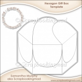Hexagon Gift Box Template CU OK