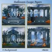Halloween Escape Papers