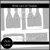 Bottle Card CU Template