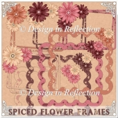 Spiced Flower Frames