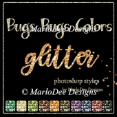 Bugs Bugs Colors Glitter Photoshop Styles