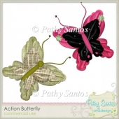 Action Butterfly by Pathy Santos