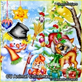 CU Animal Christmas