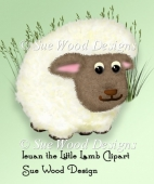 Ieuan the Sheep commercial use clipart