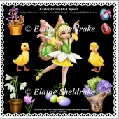 Easter Fairy - Printable Clipart - Set One - Designers Resource