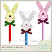 Action Pencil Rabbit Pathy Santos