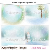 Winter Magic Backgrounds Set 2