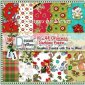 10 - A4 Christmas Backing Papers 1