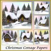 Christmas Cottage papers