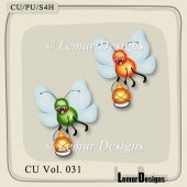 Insects Pack 4 by Lemur Designs