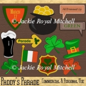 Paddy's Parade clipart