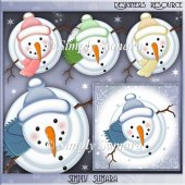 Designer Resource Snowmen