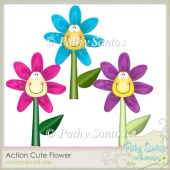 Action Cute Flower Pathy Santos