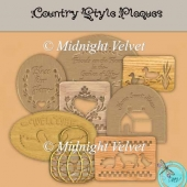 country Plaque Element Pack