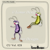 Bugs Pack 1 by Lemur Designs