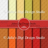 Embossed Digital Cardstock Pack - Red/Orange/Yellow