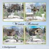 Winter Retreat Backgrounds