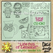 Life full of Lemons! CU doodles