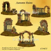 Autumn Ruins Png