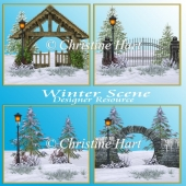 Winter Scenes Backgrounds