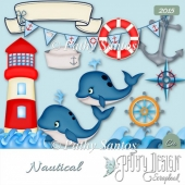 Nautical cliparts Pathy Design