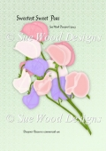 Designer Resource Sweetest Peas pastel pinks CU4CU