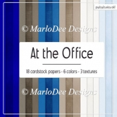 At the Office Digital Card Stock Papers {A4 size}