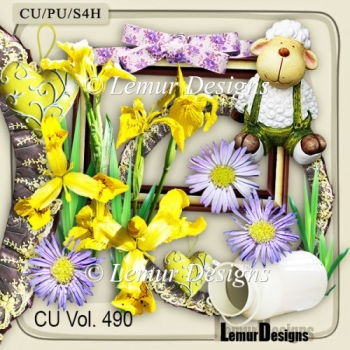 CU Vol. 490 Summer Flowers