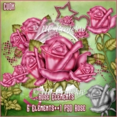 CU Rose paint Elements incl.Template