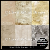 Mixed Media Texture Overlays - Set 2