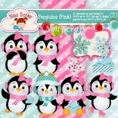 Penguins Pink