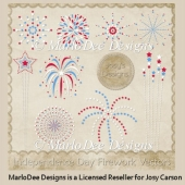 Independence Day Fireworks PSD Layered Templates
