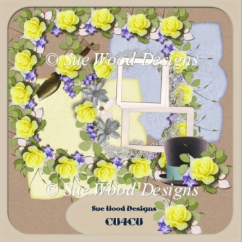 Designer Resource pack Elizabeth Florals