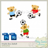Templates Bears Football Pathy Santos