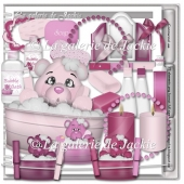 Teddy Bear Bath 1 FS by GJ